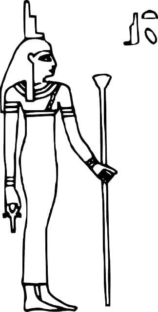 dios egipcio isis