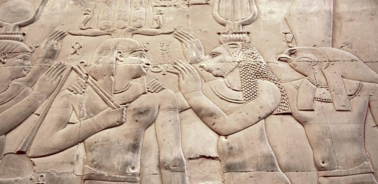 nombres de dioses egipcios representados