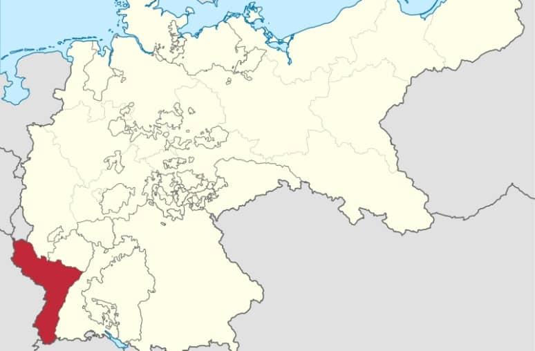 Alsacia Lorena en los sistemas Bismarckianos