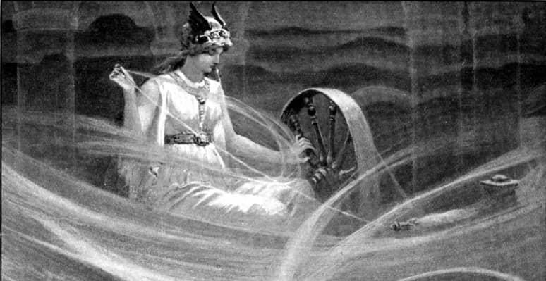 diosa Frigg