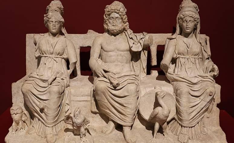 La Tríada Capitolina de Roma y sus dioses