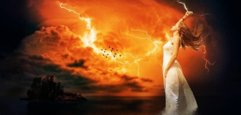 una de las diosas nórdicas